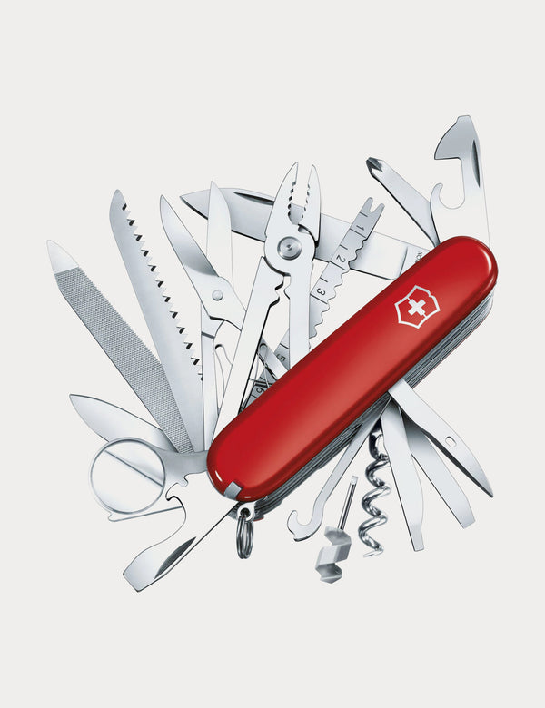Victorinox Swiss Army Knife - Champ Red