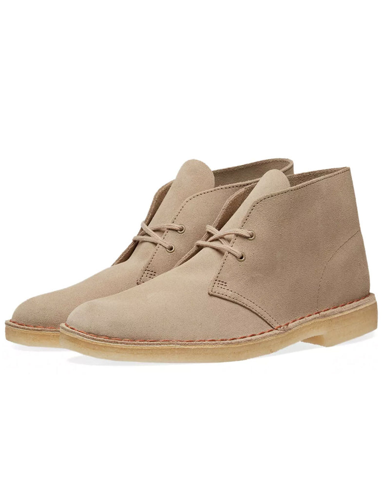 Clarks Originals Desert Boots - Sand Suede Clarks Originals Desert Boots - Sand Suede Mr Simple