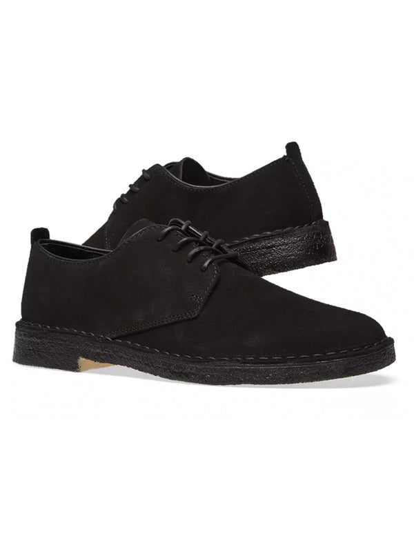 Clarks Originals Desert London - Black Suede
