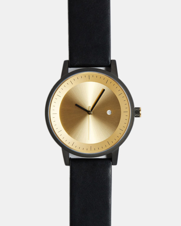 Dixon Watch 42mm - Black/Gold