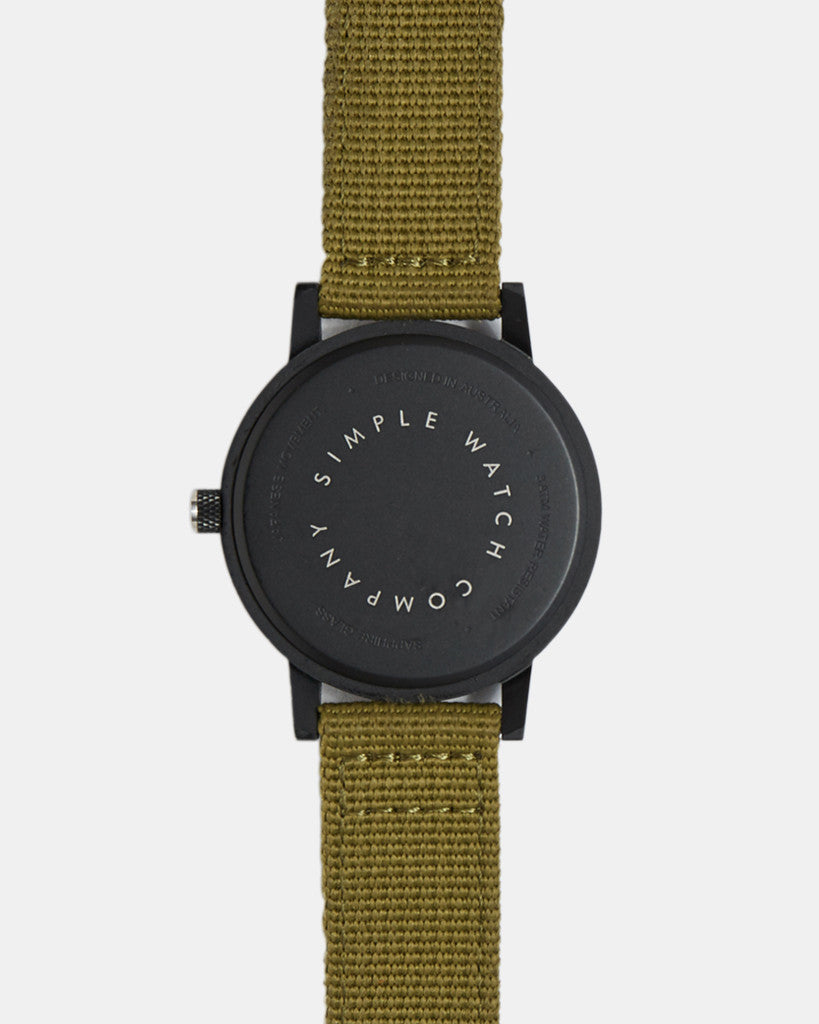 earl watch - olive nato - 42mm earl watch - olive nato - 42mm Mr Simple