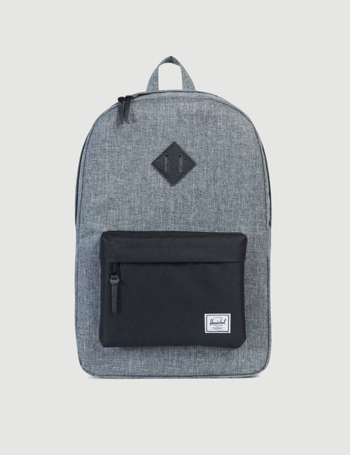 10007-01132-OS-herschel-heritage-backpack-raven-crosshatch-828432100606