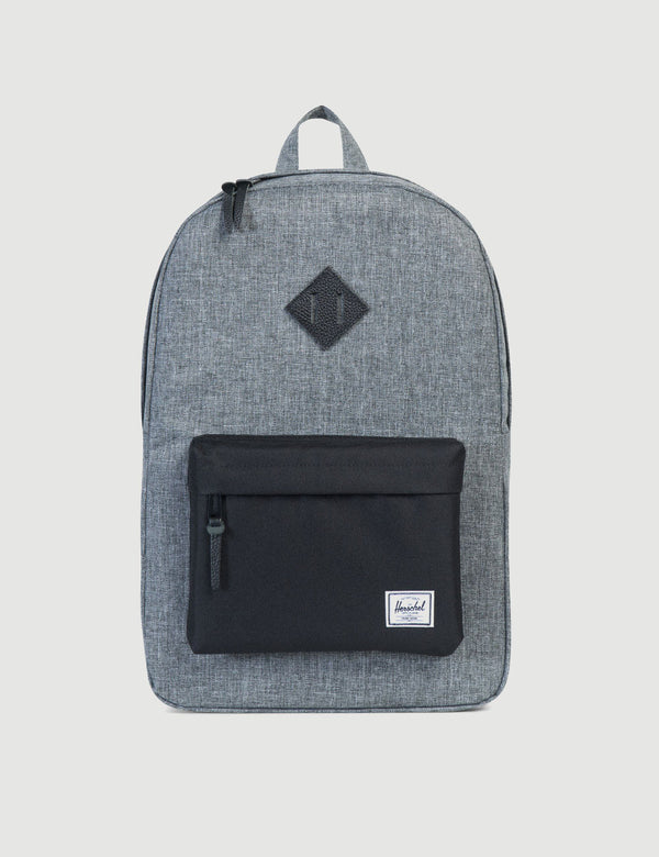 Herschel Heritage Backpack - Raven Crosshatch/Black Rubber