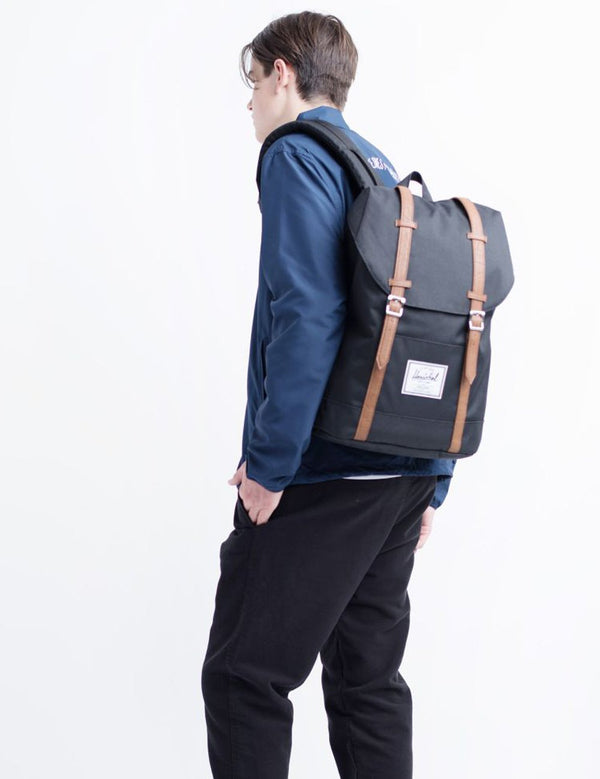 Herschel Retreat Backpack - Black