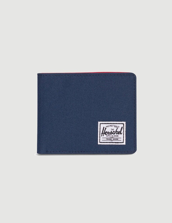 Herschel Roy Wallet RFID - Navy/Red