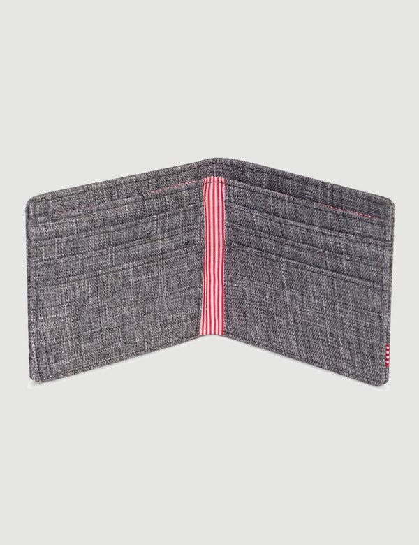 Herschel Roy Wallet RFID - Raven Crosshatch
