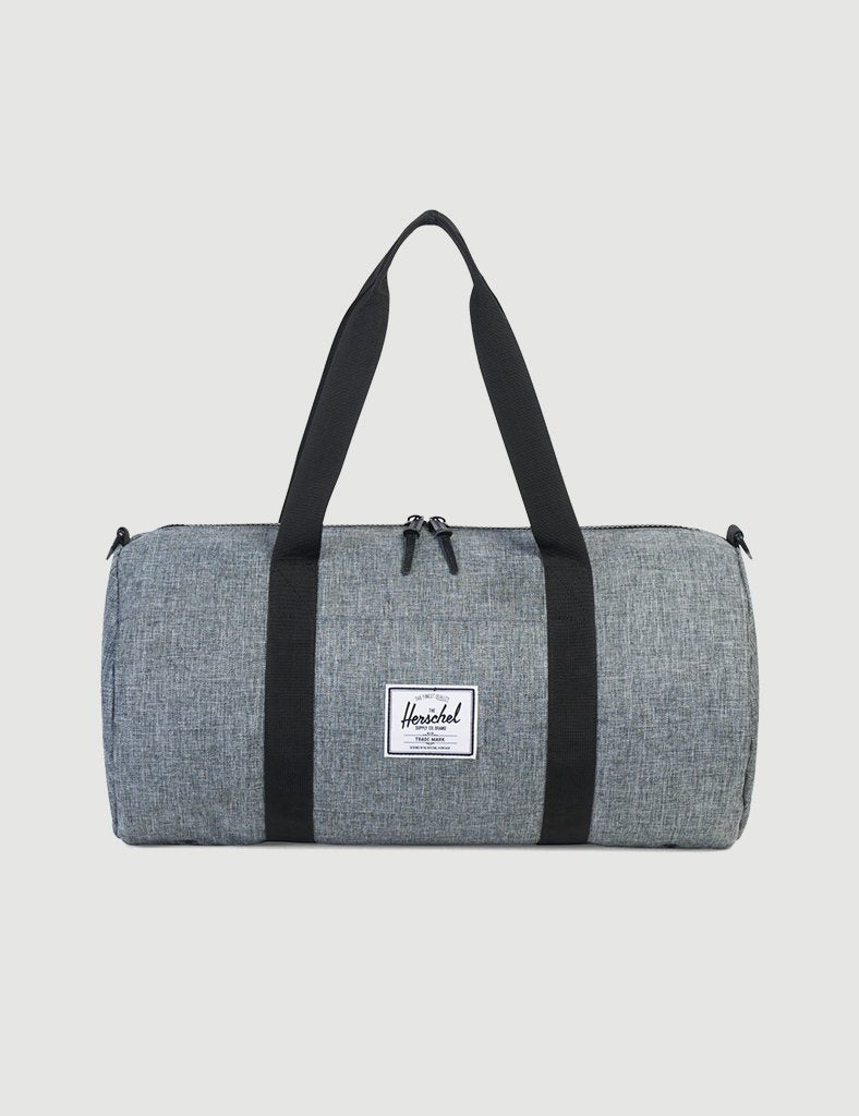 Herschel Sutton Mid-Volume Duffle - Raven Crosshatch/Black