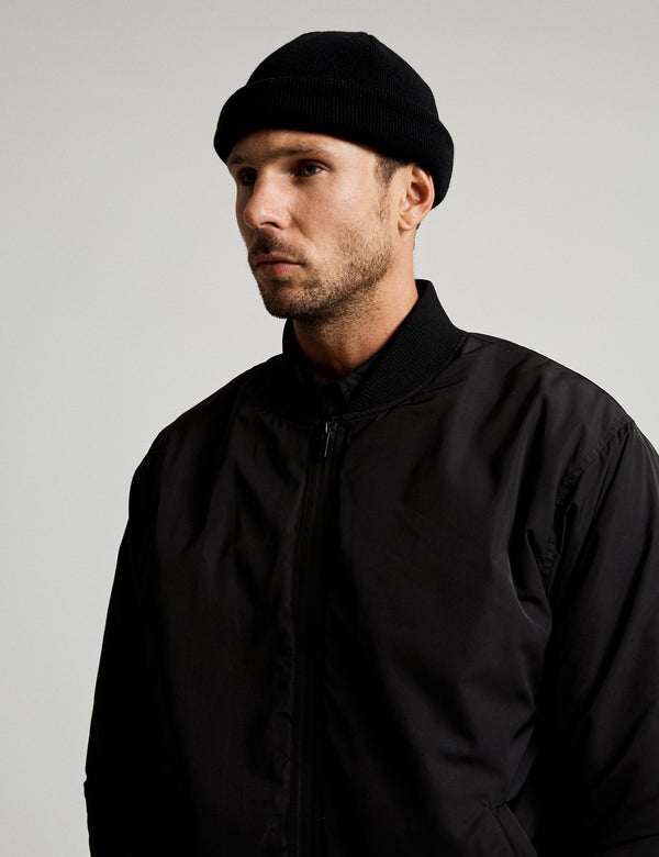 Technical Bomber Jacket - Black