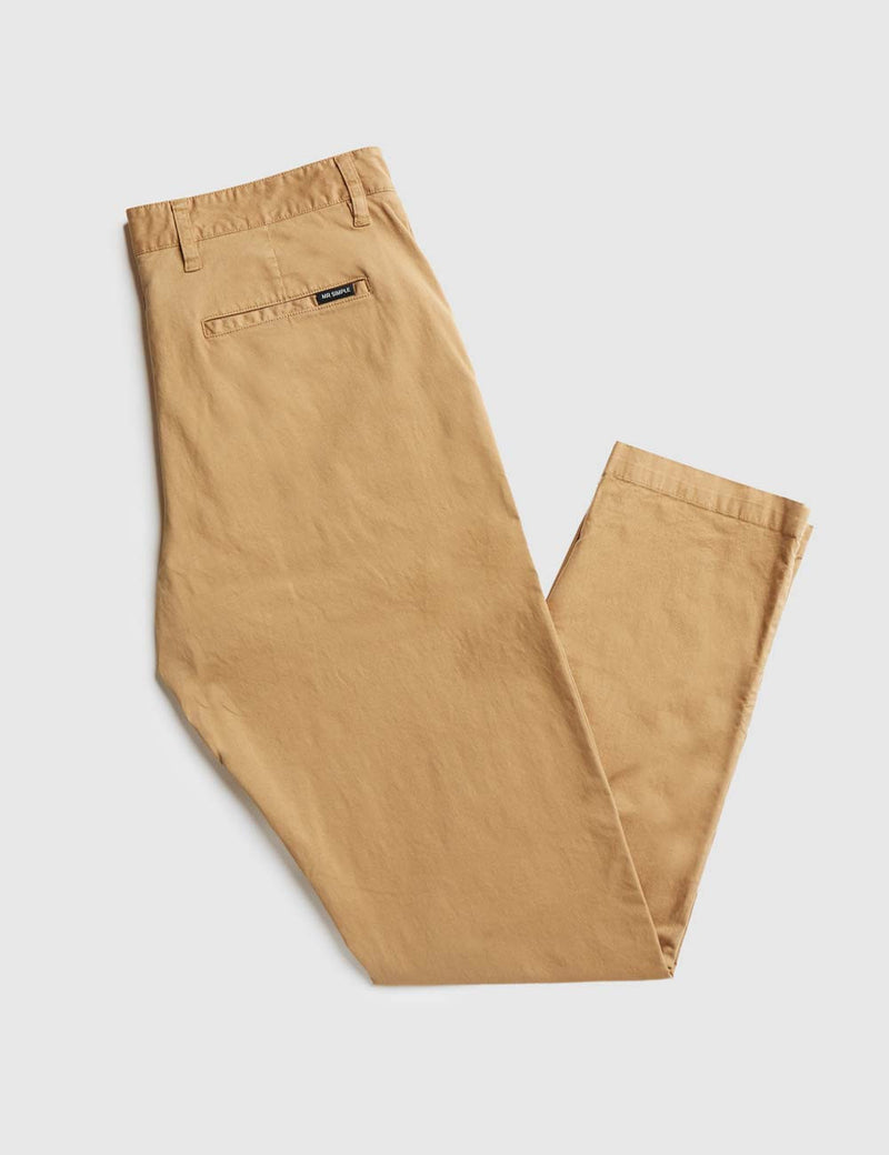 Slim Fit Chino - Khaki
