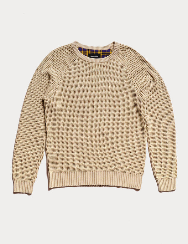 Organic Chunky Knit - Natural