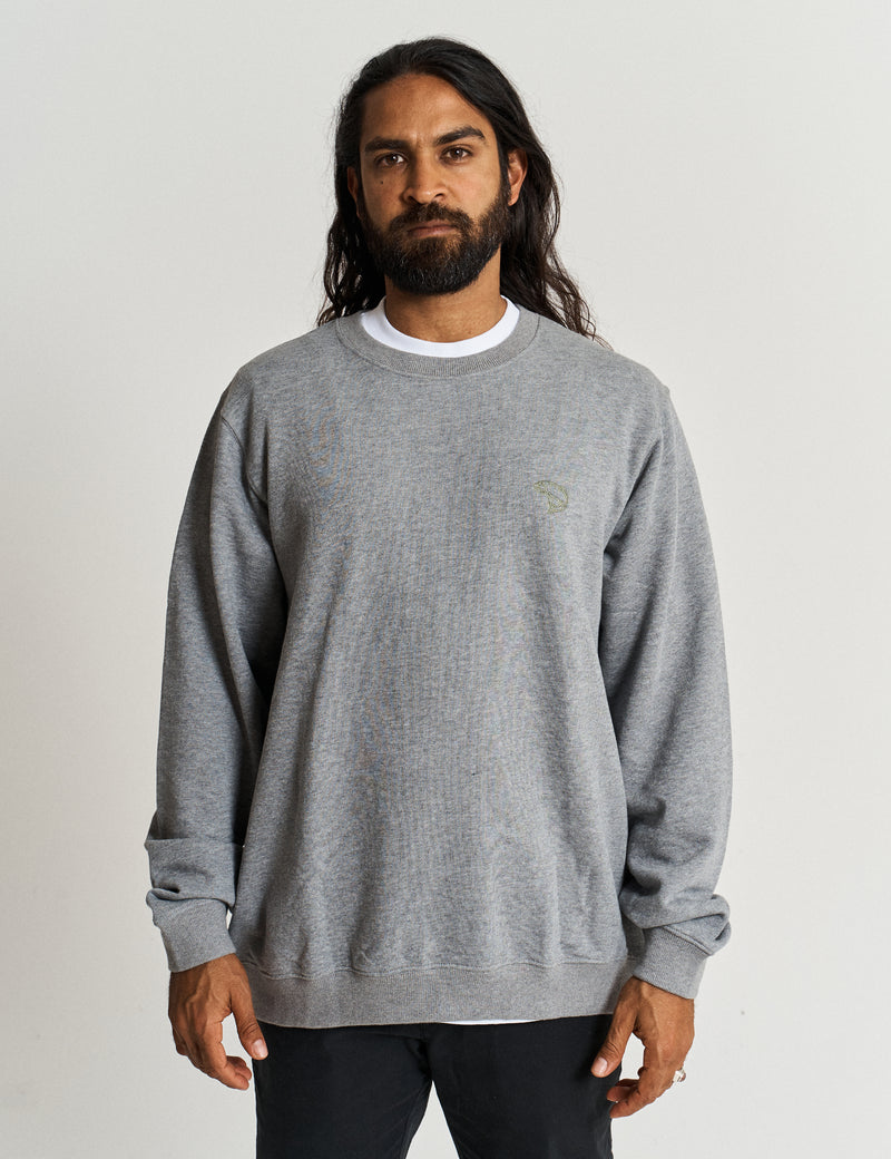 Crew Neck Fleece - Trout