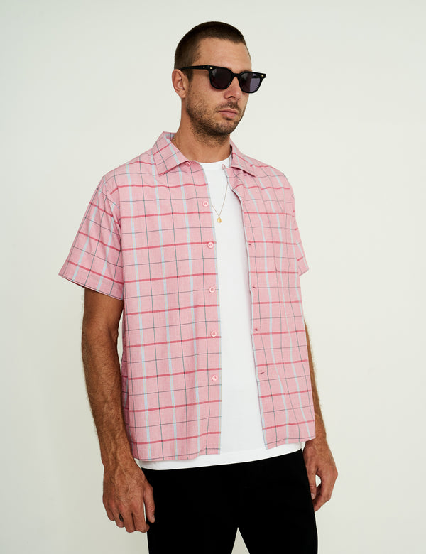 Crystal Cylinders Bowler Shirt - Check