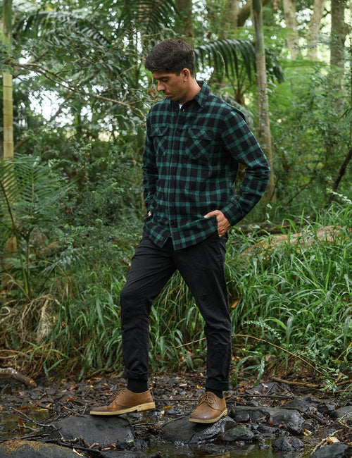 mr-simple-flannel-long-sleeve-shirt-forest-green