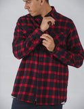flannel long sleeve shirt flannel long sleeve shirt Mr Simple