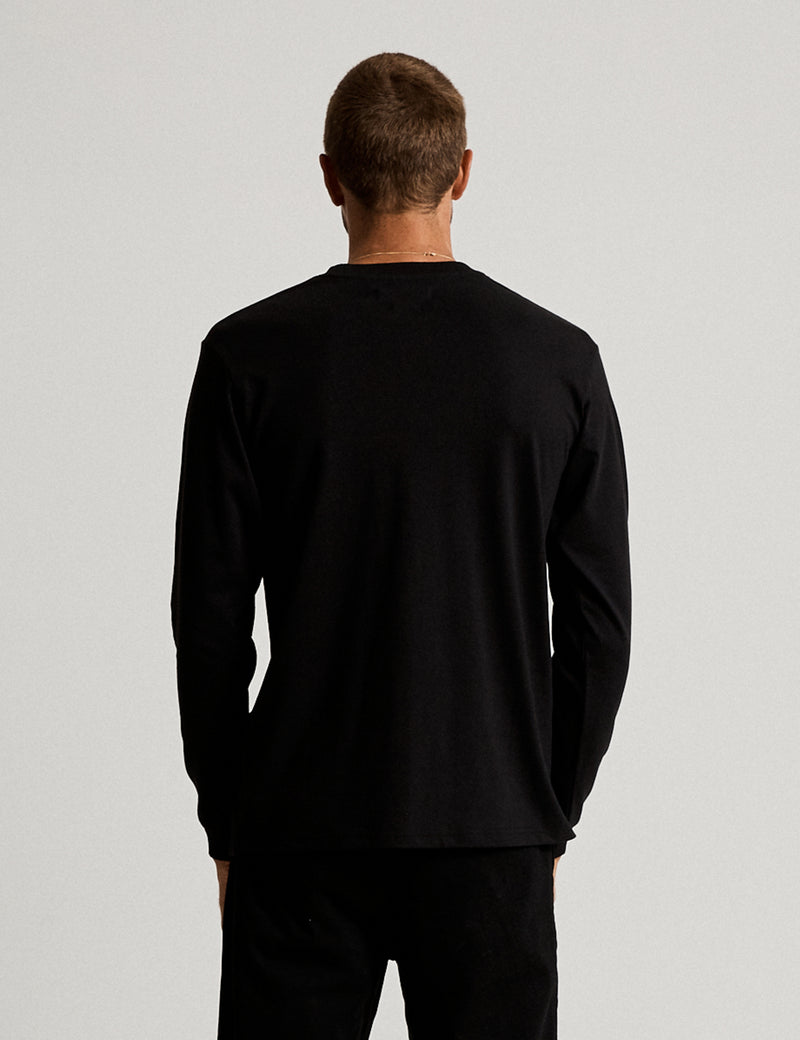 Fair Trade Heavy Weight Longsleeve Tee - Black