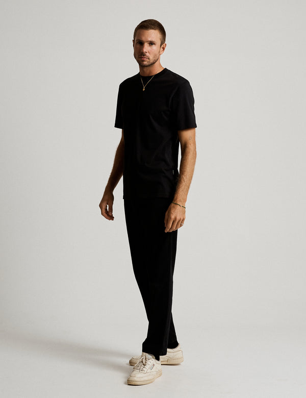 Fair Trade Heavy Weight Tee - Black