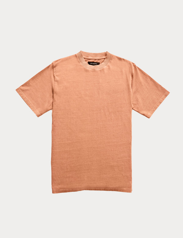 Fair Trade Heavy Weight Tee - Washed Ochre