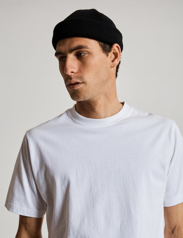 Fair Trade Heavy Weight Tee - White