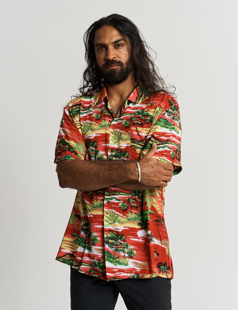 Jungle Bowler Shirt - Red