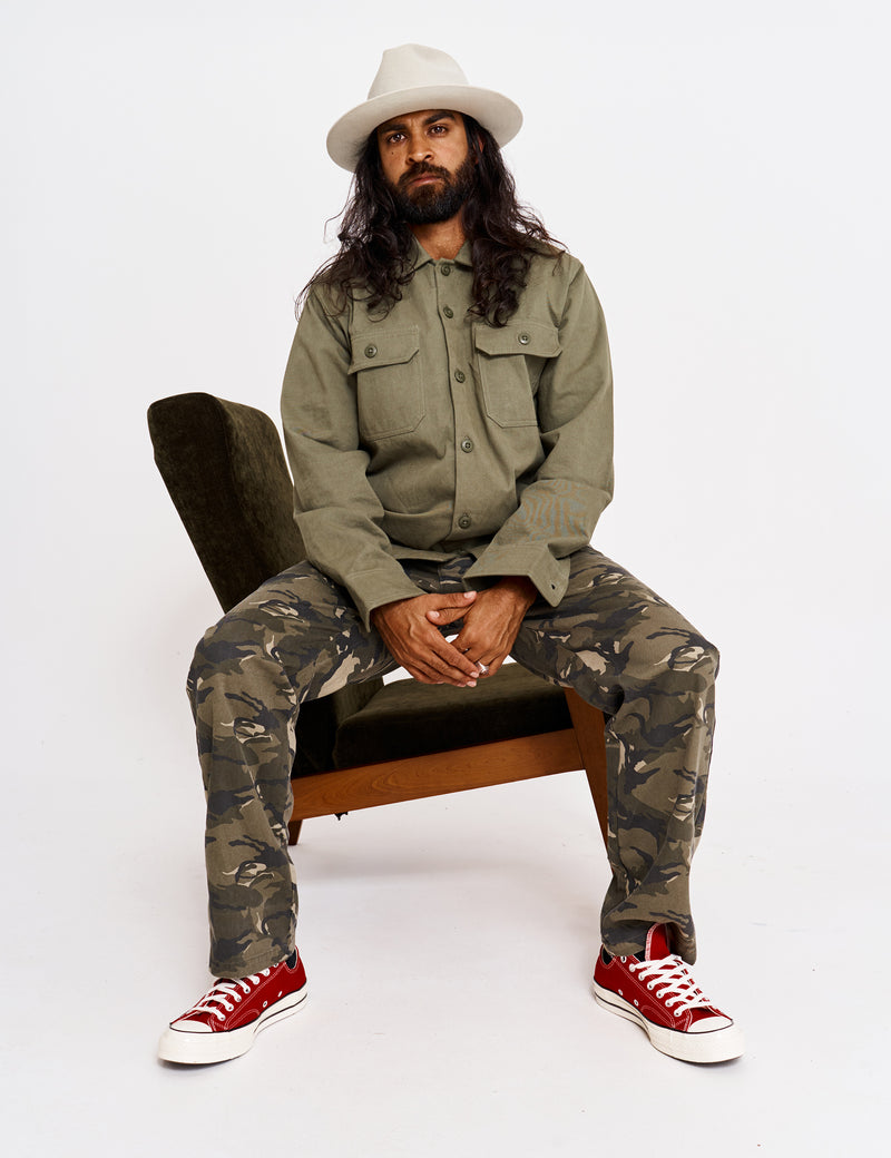 Jungle Over Shirt - Army
