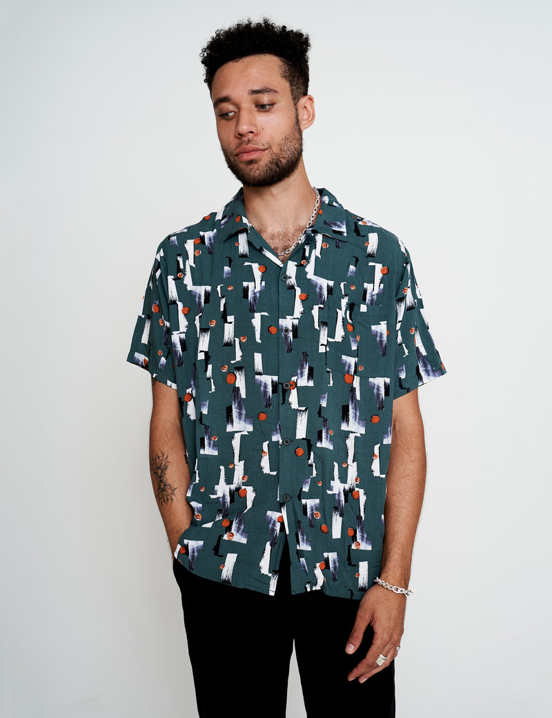 Outdoor Rec Bowler Shirt - Green