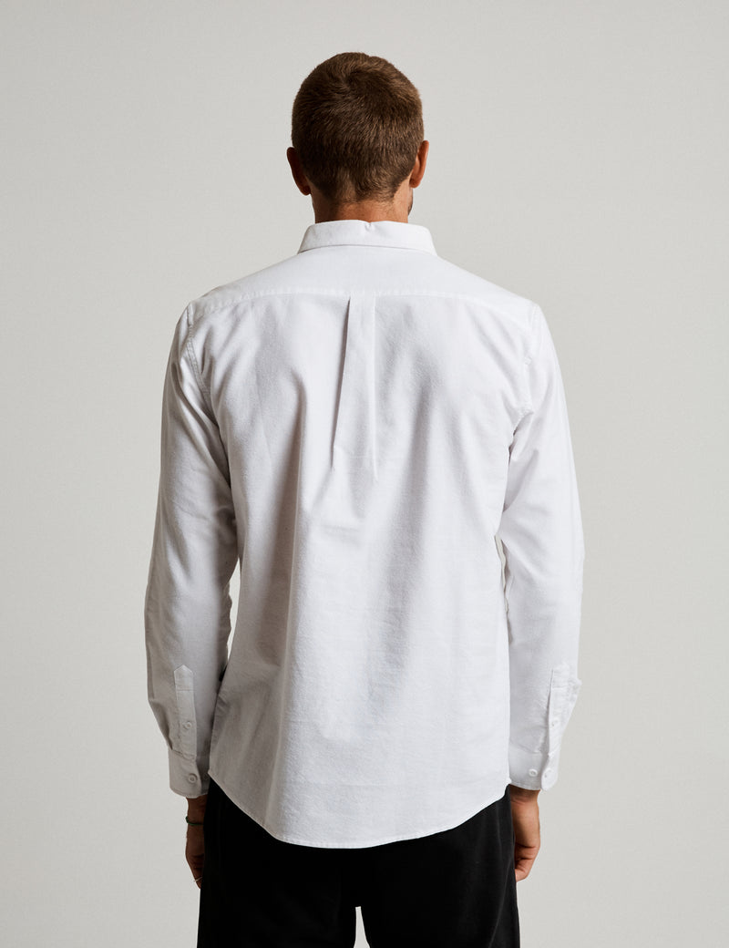 Oxford Long Sleeve Shirt - White
