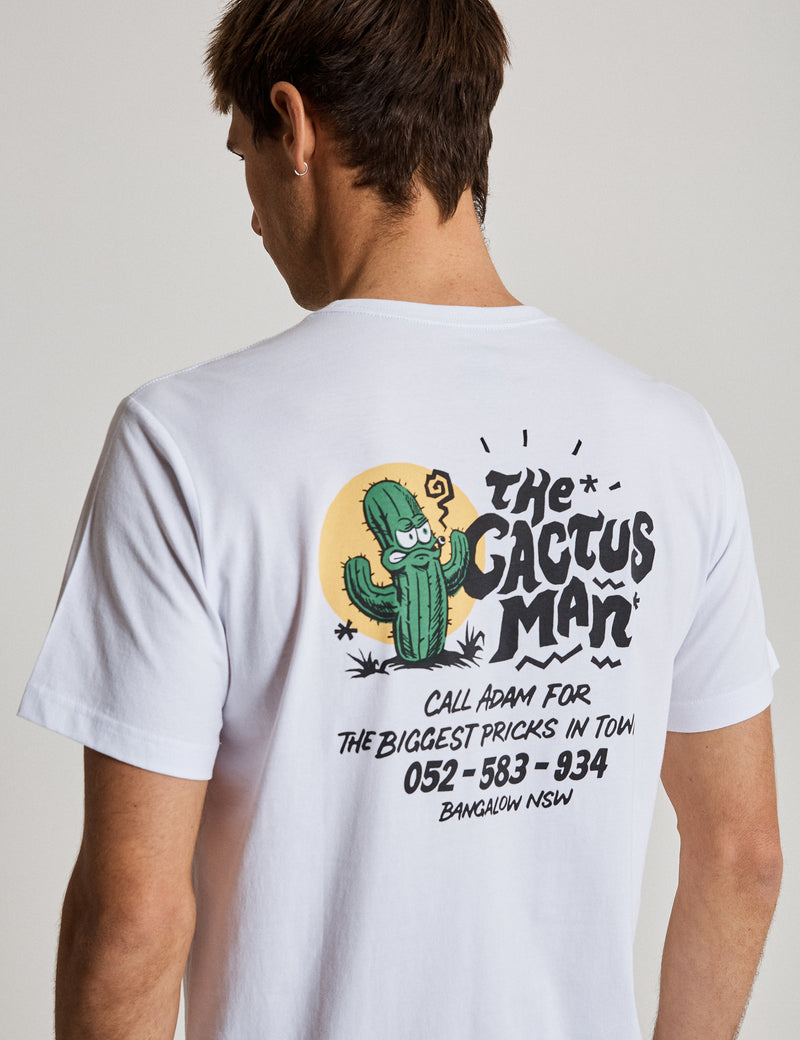 Reginald Tourist Tee - Cactus Man
