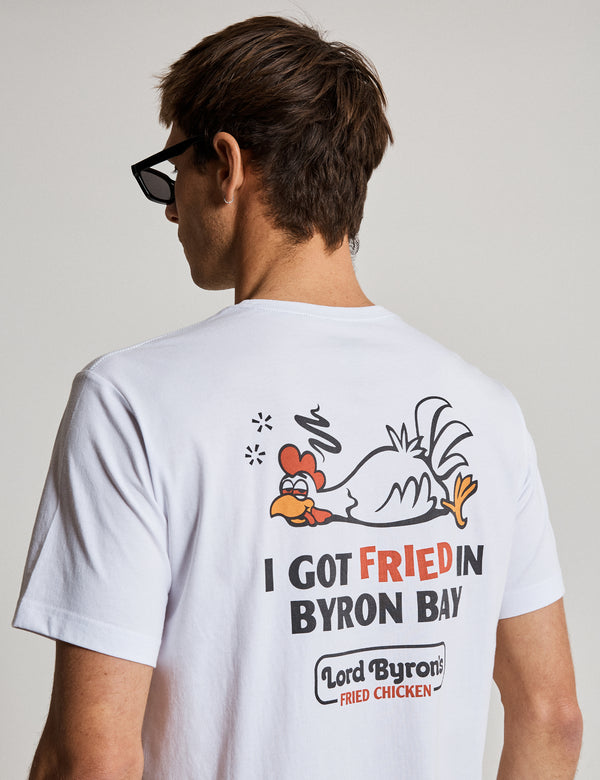 Reginald Tourist Tee - Byron Chicken