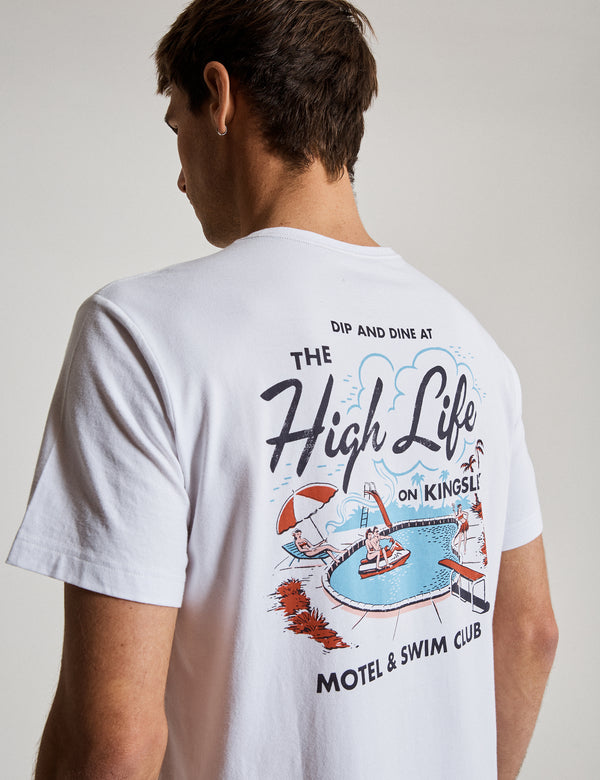 Reginald Tourist Tee - High Life