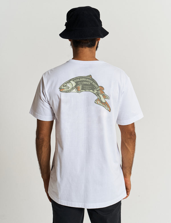 Heavy Weight Tourist Tee - Goulburn Trout