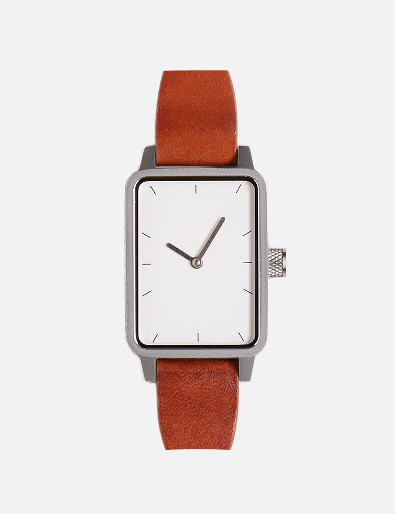 #3 Watch - Tan / Silver / White - 32mm #3 Watch - Tan / Silver / White - 32mm Mr Simple