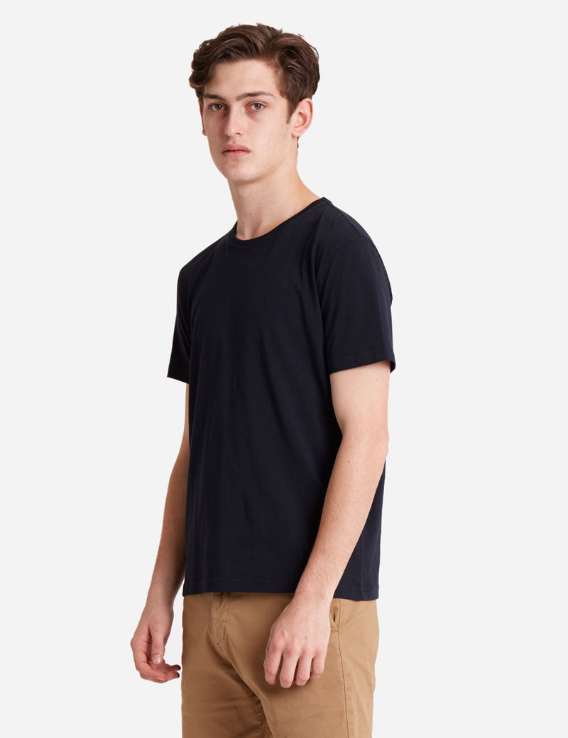 Bob Slim Fit Tee - Black