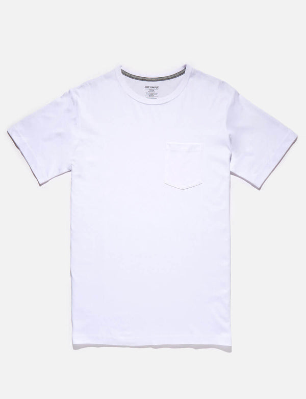 Fletcher Pocket Tee - White