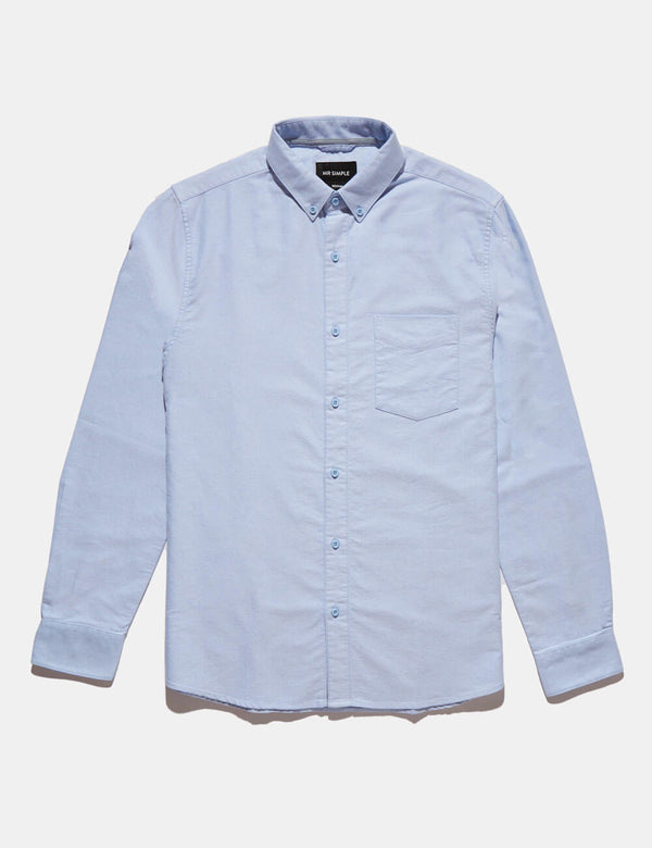 Oxford Long Sleeve Shirt - Blue