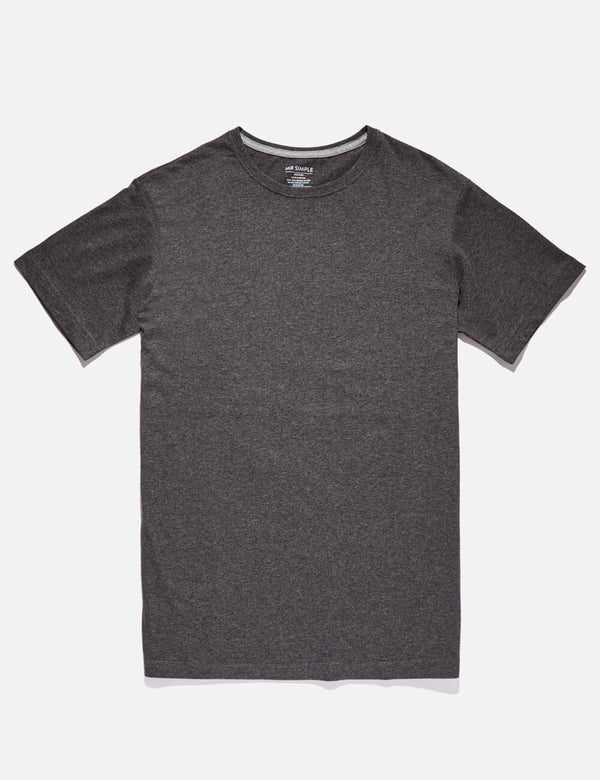 Reginald Tee - Charcoal Marle
