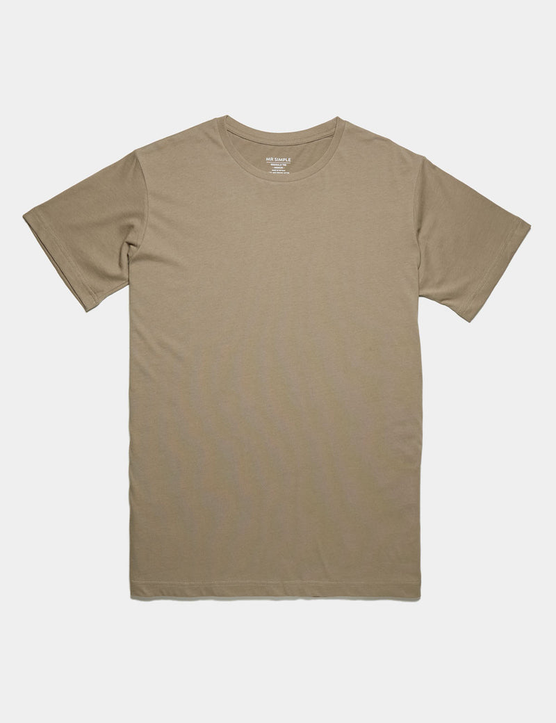 Reginald Tee - Taupe