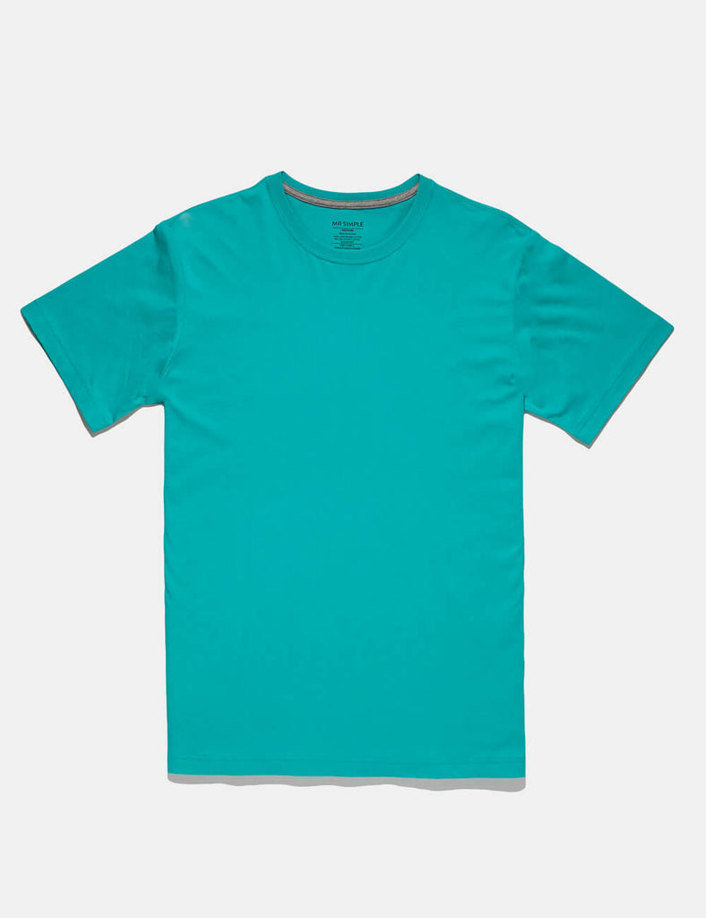 reginald turquoise tee reginald turquoise tee Mr Simple