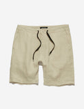 Tanner Linen Shorts - Natural Tanner Linen Shorts - Natural Mr Simple