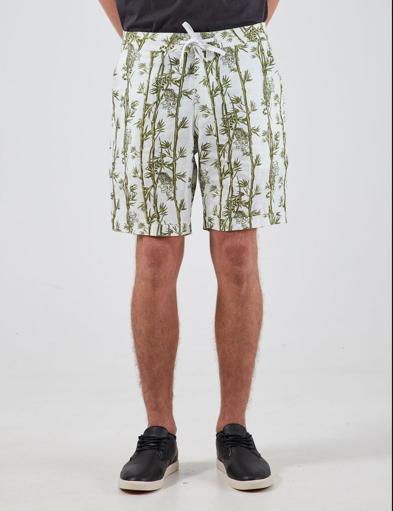 tanner printed linen shorts tanner printed linen shorts Mr Simple