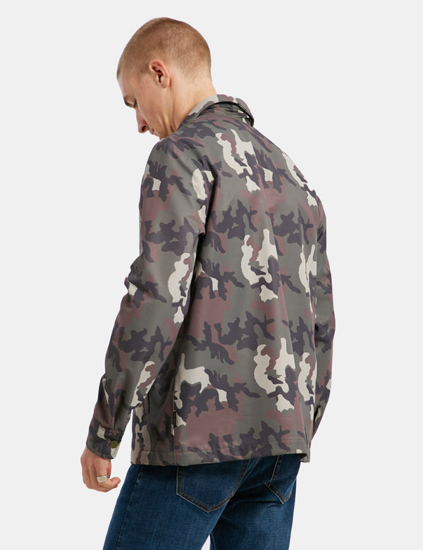 Tech Coaches Jacket - Camo