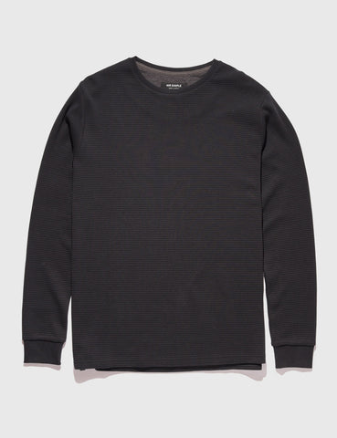 mr-simple-waffle-long-sleeve-black-tee