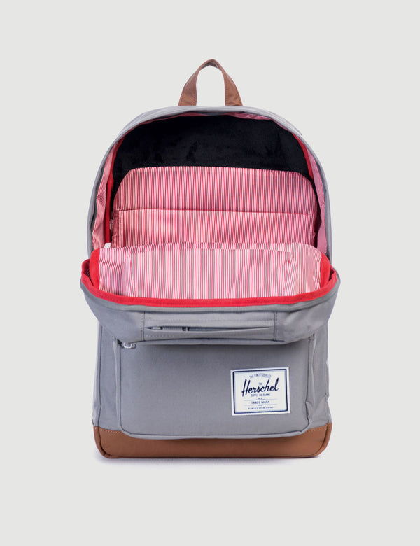 Herschel Pop Quiz Backpack - Grey/Tan