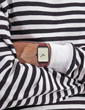 #3 Watch - Burgundy / White / Black - 38mm #3 Watch - Burgundy / White / Black - 38mm Mr Simple