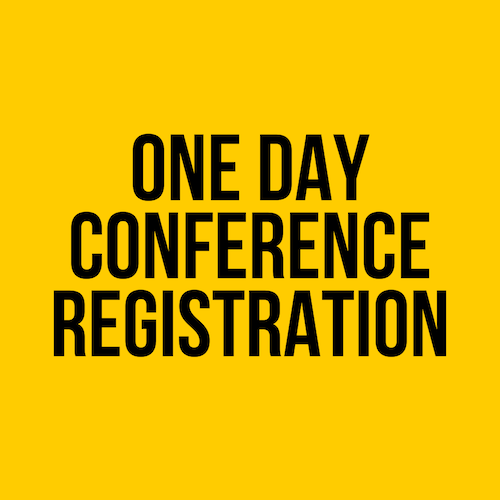 2020 One Day Pre- Conference Registration