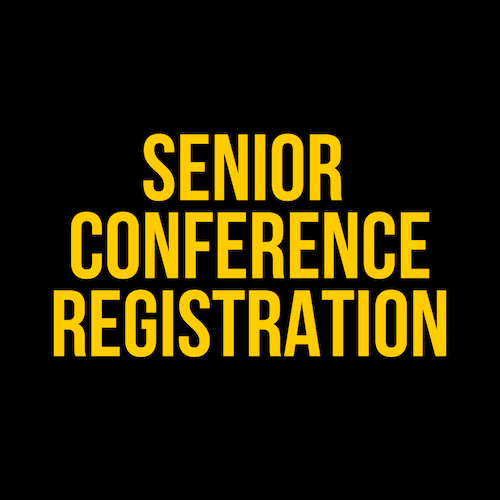 2020 Senior Member Pre- Conference Registration