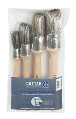 CHALK PAINT & WAX BRUSH SET (12 PACK)