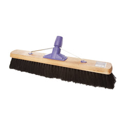 "Pack of 6 x 24"" Soft Coco & PVC Mix Broom"
