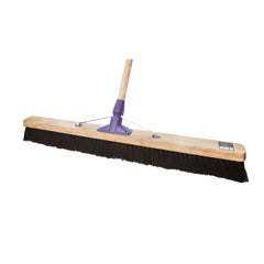 "36"" MIXED FIBRE SOFT BROOM (6 PACK)"