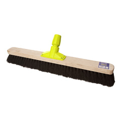 "Pack of 6 x 24"" Synthetic Stiff Broom"