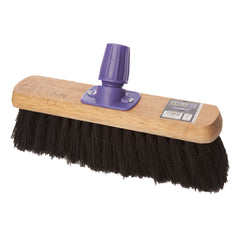 "24"" MIXED FIBRE MEDIUM BROOM (6 PACK)"
